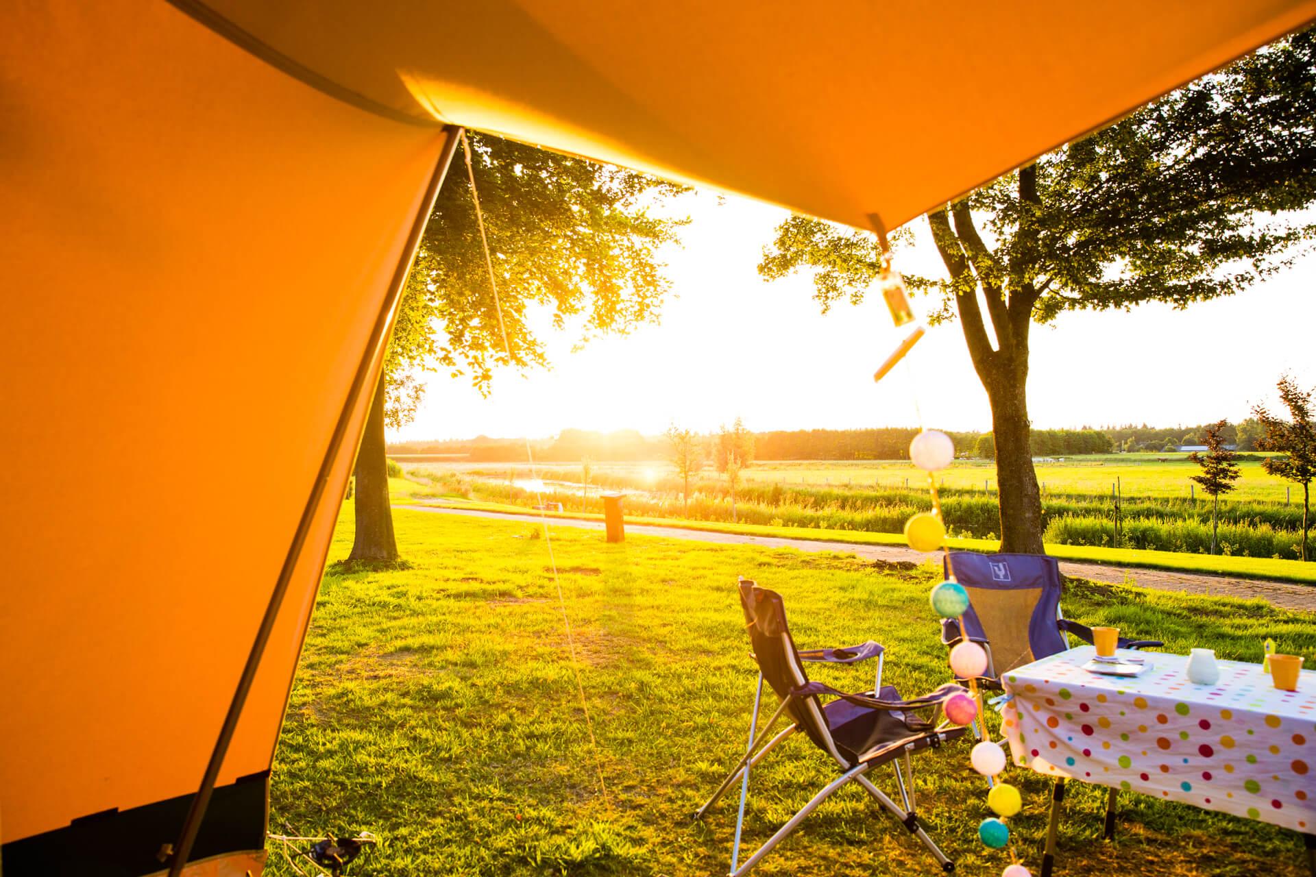 camperen met uitzicht